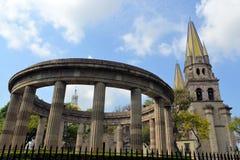 Catedral de Guadalajara, Jalisco (México) imagenes de archivo