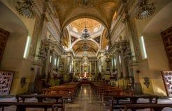 Catedral de guanajuato Royaltyfria Bilder