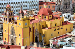 Catedral de Guanajuato foto de stock royalty free