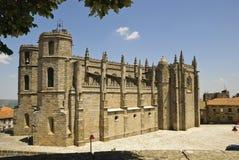 Catedral de Guarda, Portugal Imagens de Stock