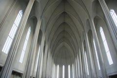 Catedral de Hallgrimskirkja Imagen de archivo libre de regalías