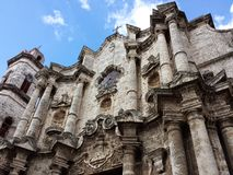 Catedral de Havana Fotos de Stock Royalty Free