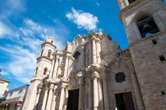 A catedral de Havana Foto de Stock