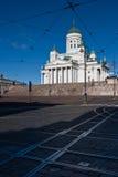 Catedral de Helsínquia Fotos de Stock Royalty Free
