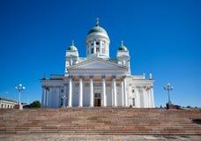 Catedral de Helsínquia Fotografia de Stock Royalty Free
