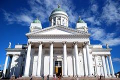 Catedral de Helsinki Fotografía de archivo