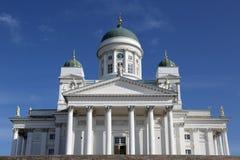 Catedral de Helsinki Imagen de archivo libre de regalías
