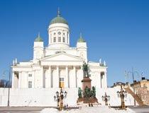Catedral de Helsinki Foto de archivo libre de regalías