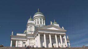 Catedral de Helsinki en Finlandia metrajes