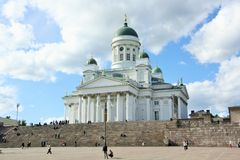 Catedral de Helsinki, Finlandia Imagenes de archivo