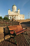 Catedral de Helsinky Fotografia de Stock Royalty Free