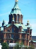 Catedral de Helsinky Fotografía de archivo