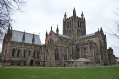 Catedral de Hereford imagen de archivo libre de regalías