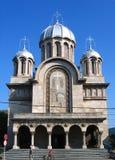 Catedral de Hunedoara, Rumania Fotografía de archivo