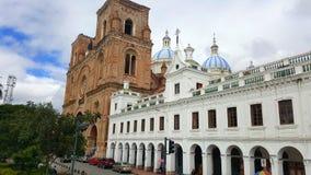 Catedral de Inmaculada de Cuenca imagens de stock royalty free