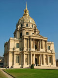 Catedral de Invalides en París Imagen de archivo