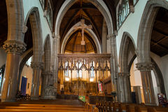 Catedral de Inverness fotografia de stock