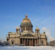 Catedral de Isaacâs del santo Foto de archivo