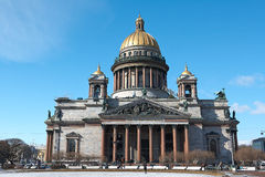 A catedral de Isaac de Saint Foto de Stock Royalty Free