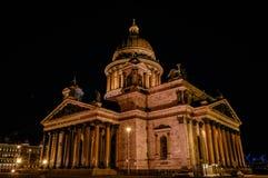 Catedral de Isaac de Saint Foto de Stock Royalty Free