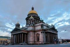 Catedral de Isaac del santo Fotos de archivo libres de regalías