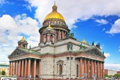 Catedral de Isaac del santo en St Petersburg, Rusia Imágenes de archivo libres de regalías
