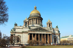 Catedral de Isaacs de Saint. St Petersburg, Rússia. Fotos de Stock