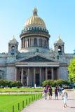 Catedral de Isaacs del santo en St Petersburg Imagen de archivo