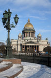 Catedral de Isaakievsky Fotos de Stock Royalty Free