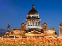 Catedral de Isaakievsky en St. - Petersburgo Fotos de archivo