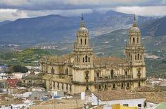 Catedral de Jaén Foto de archivo