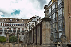 Catedral de Jaén Imágenes de archivo libres de regalías