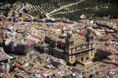 Catedral de Jaén Fotos de Stock Royalty Free