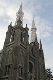 A catedral de Jakarta Fotos de Stock Royalty Free