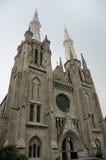 Catedral de Jakarta Foto de archivo