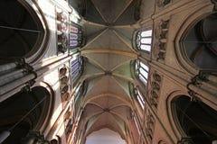 Catedral de Jean de Saint, Lyon Imagem de Stock Royalty Free