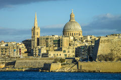 Catedral de Jhon de Saint, Valletta Imagens de Stock Royalty Free