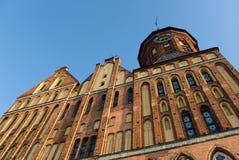 Catedral de Kaliningrad (Konigsberg, Konigsberg) Foto de archivo