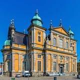 Catedral de Kalmar Fotos de archivo libres de regalías
