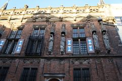 Catedral de Kampen en Países Bajos foto de archivo libre de regalías