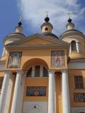 Catedral de Kazán del monasterio santo de Dormition Fotos de archivo libres de regalías