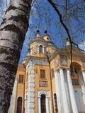 Catedral de Kazán del monasterio santo de Dormition Fotografía de archivo