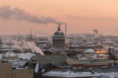 Catedral de Kazan Imagen de archivo
