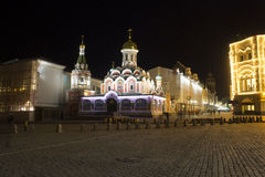 Catedral de Kazan moscow Rússia Fotos de Stock
