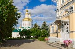 Catedral de Kazan no convento do serafim-Diveevo da trindade santamente, Diveev Imagens de Stock Royalty Free