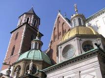 Catedral de Kraków imagenes de archivo