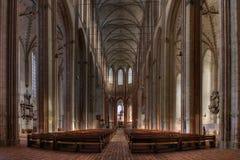 Catedral de Lübeck imagens de stock