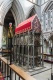 Catedral de la abadía del St Albans Normando, gótico foto de archivo libre de regalías