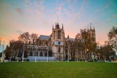 Catedral de la abadía en Londres, Reino Unido Imagen de archivo libre de regalías