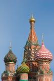 Catedral de la albahaca del santo fotos de archivo